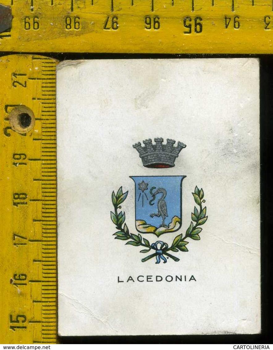 Figurina Brioschi Araldica Stemmi Città Italiane Serie 3 N°88 Lacedonia - Cromo