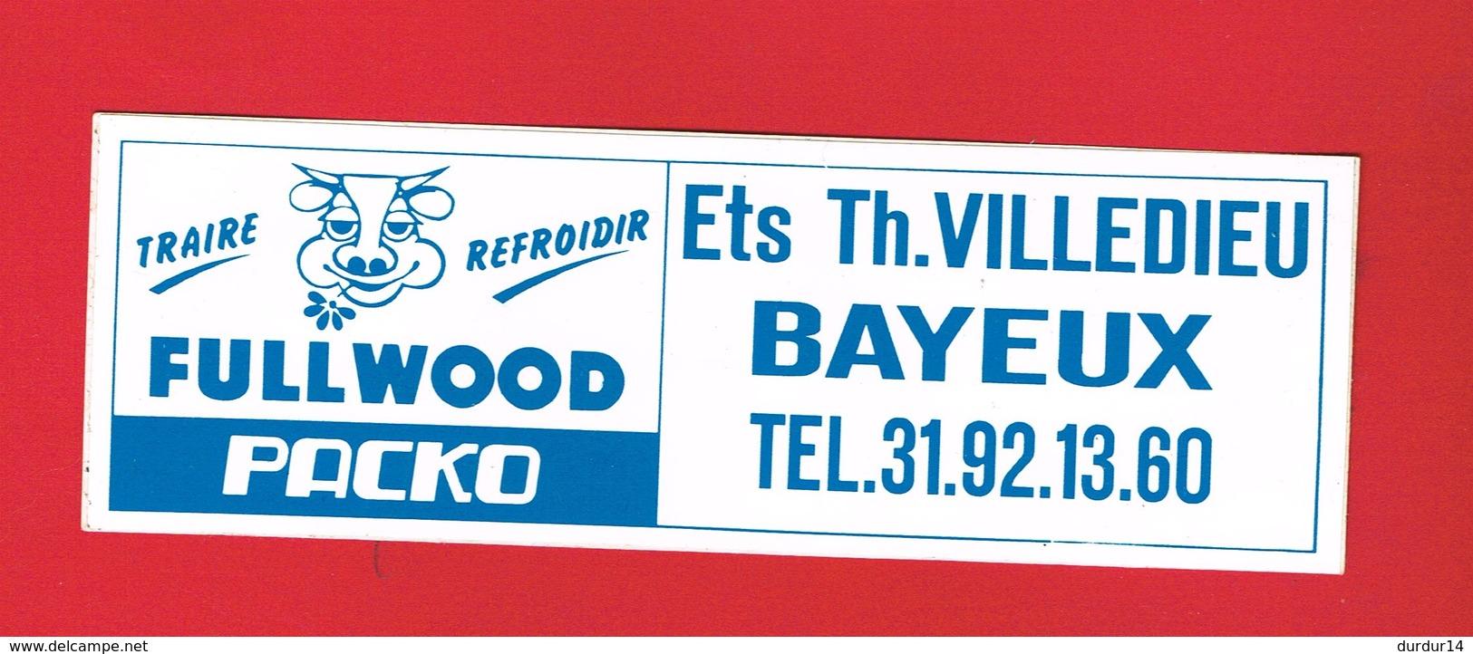 1 Autocollant ETS TH. VILLEDIEU BAYEUX - Autocollants