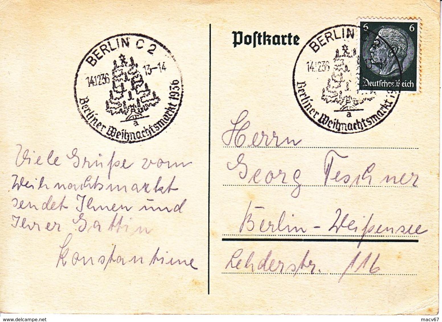 Propaganda Card  BERLIN  CHRISTMAS  FAIR - Germany