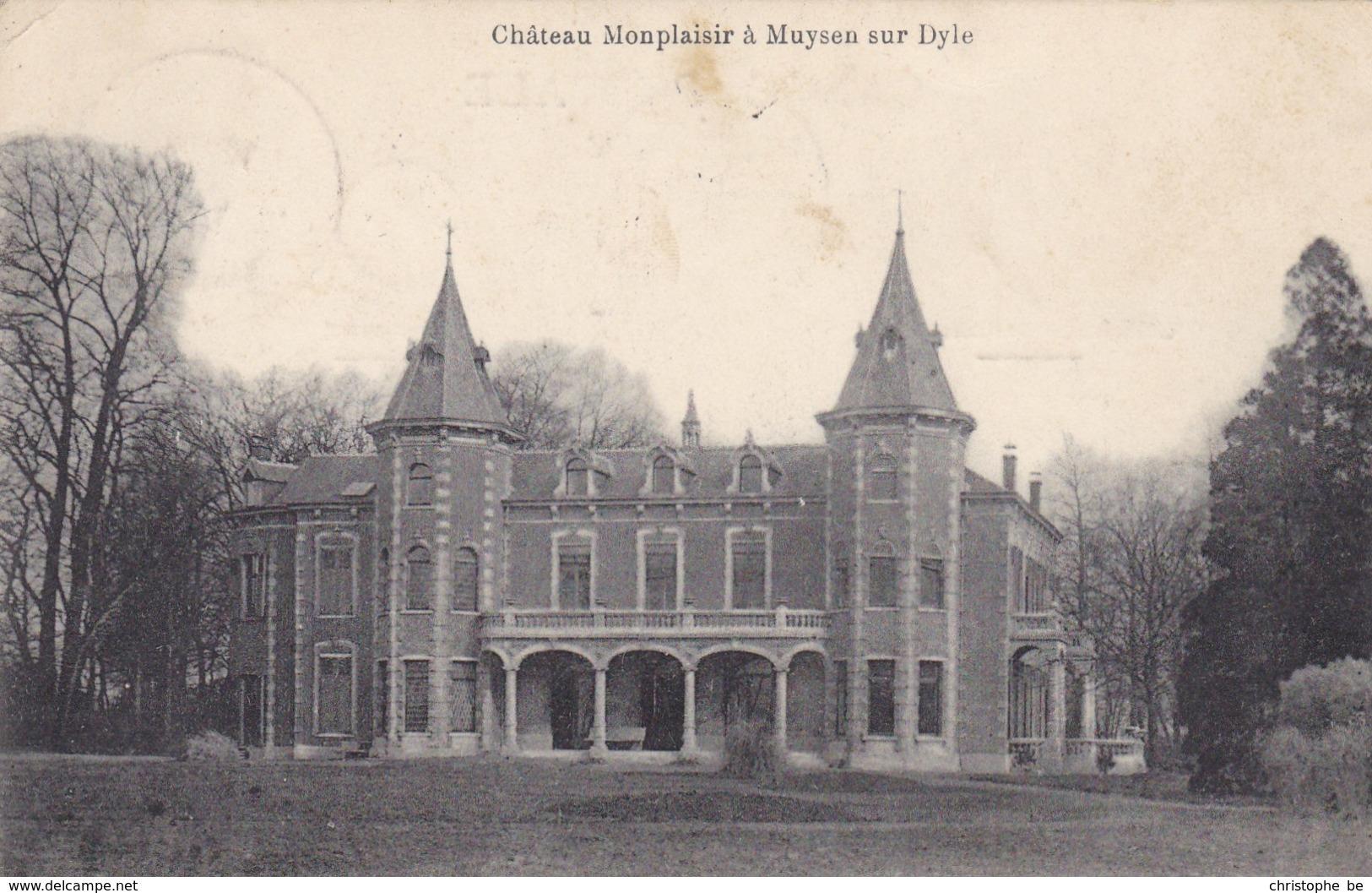 Muizen, Château Monplaisir à Muysen Sur Dyle (pk57253) - Malines
