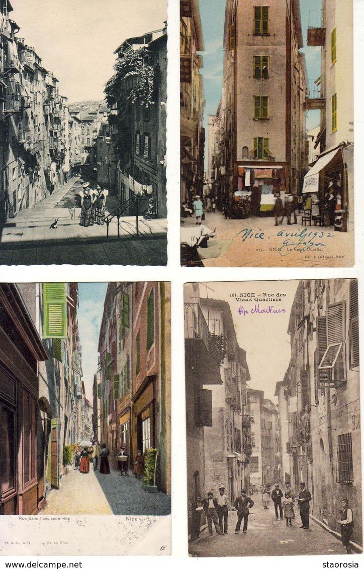 D06 NICE  LOT DE 22 CP LA VIEILLE VILLE ( Format 9 Cm X 14 Cm ) - Life In The Old Town (Vieux Nice)