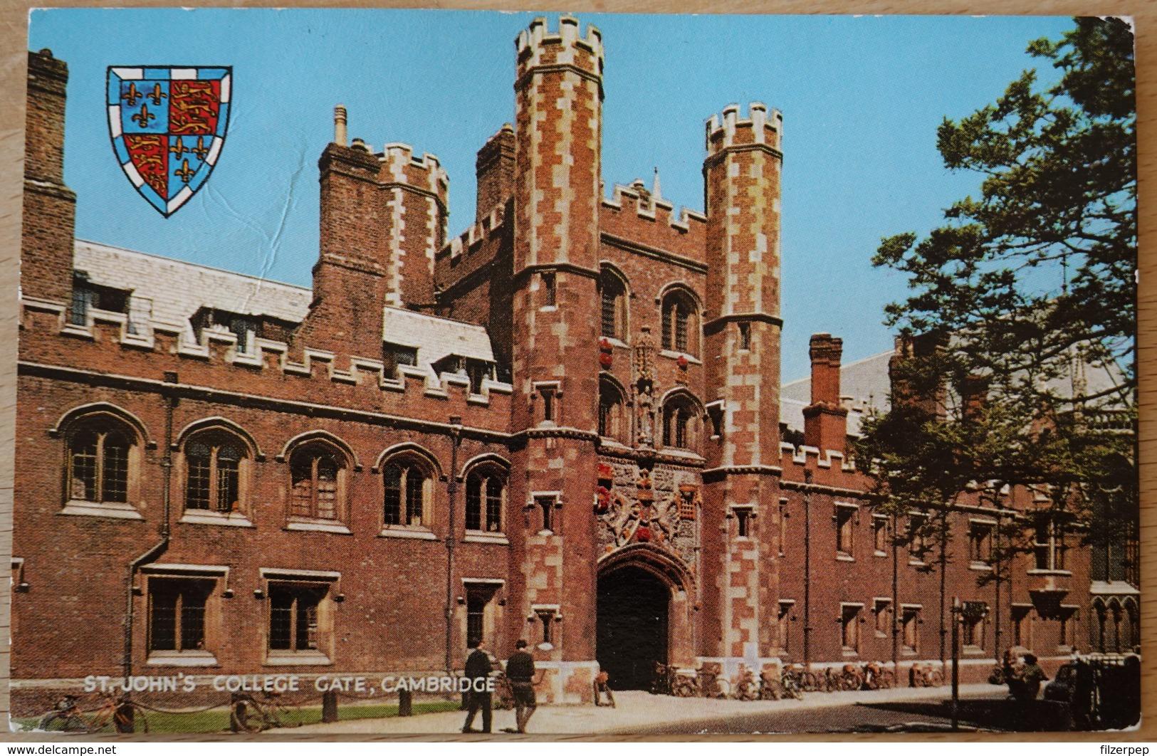 St. John's College Gate Cambridge - Ver. Königreich