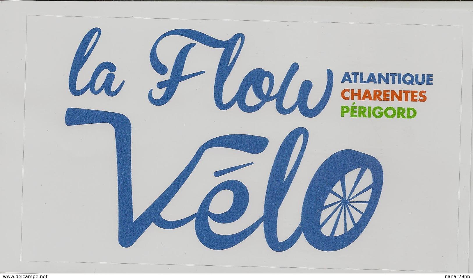Autocollant Le Flow Vélo - Autocollants