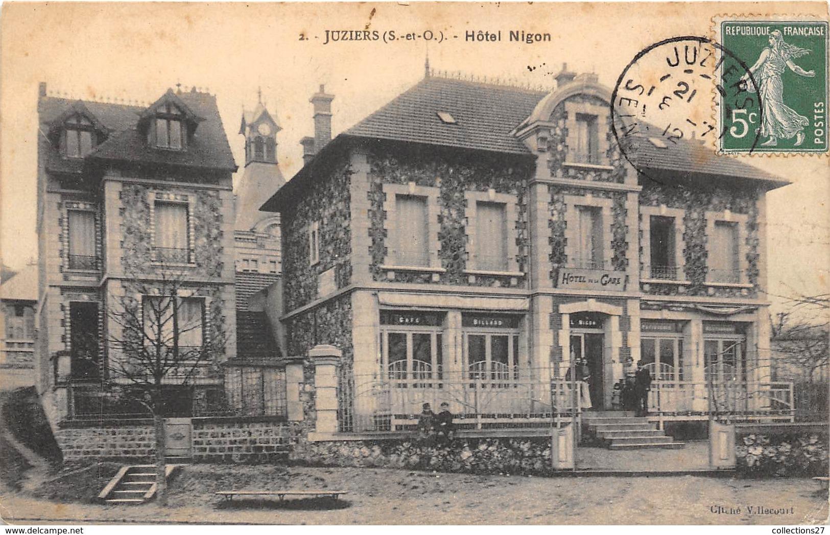 78-JUZIERS- HÔTEL NIGON - Autres Communes
