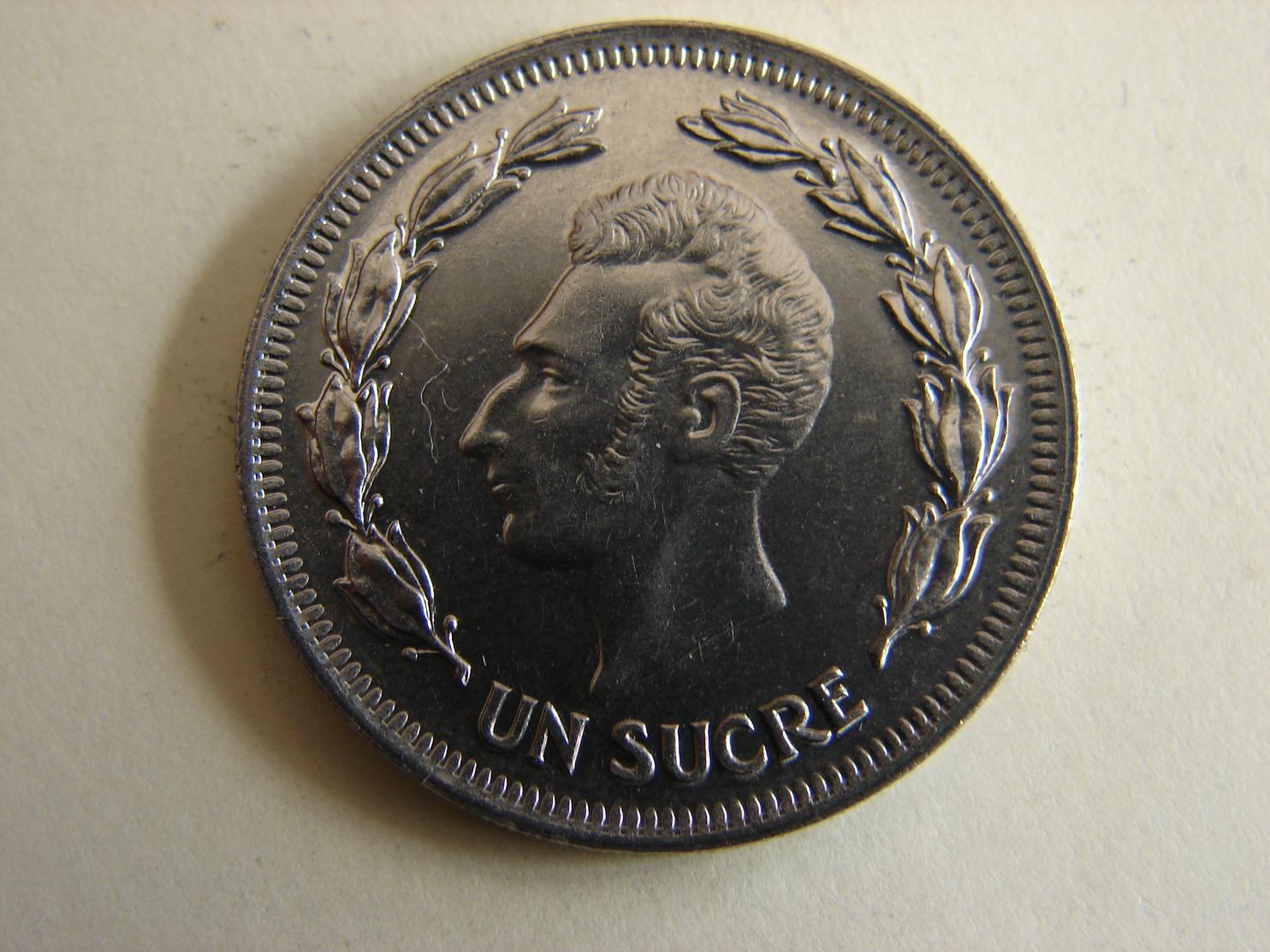 1 SUCRE 1975. - Equateur