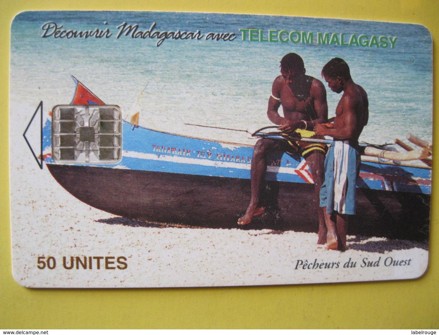 Télécarte De Madagascar - Madagascar