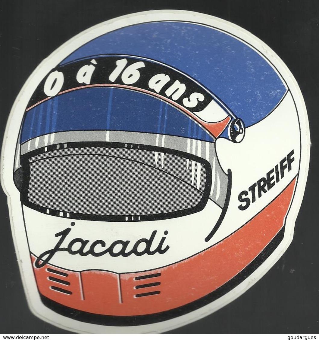 Autocollant - Jacadi - Casque De Moto Streiff - Autocollants