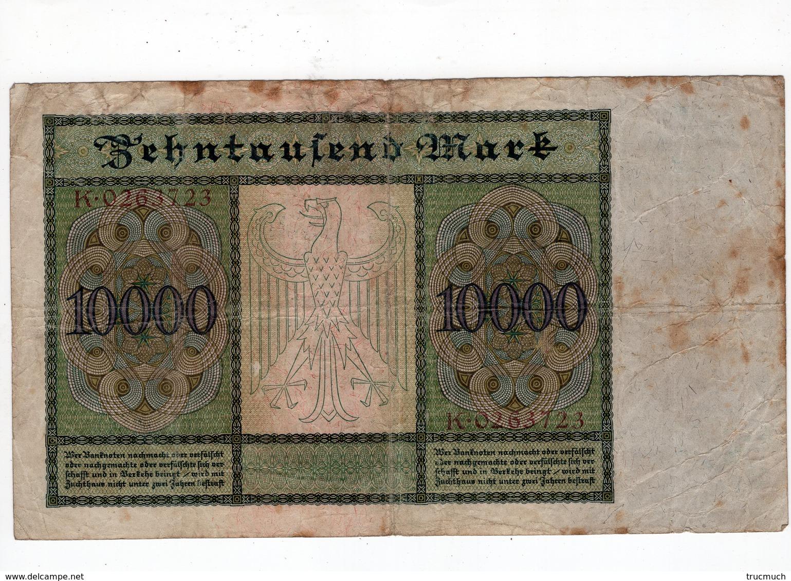 Allemagne - 10000 Mark - 19.01.1922 - 10000 Mark