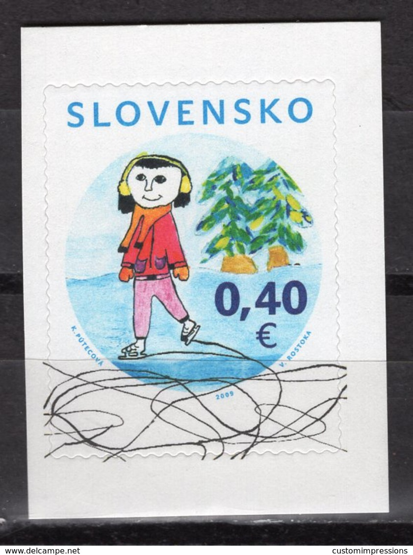 SLOVAKIA - 2009 Christmas - Winter Motif   M263 - Slovaquie