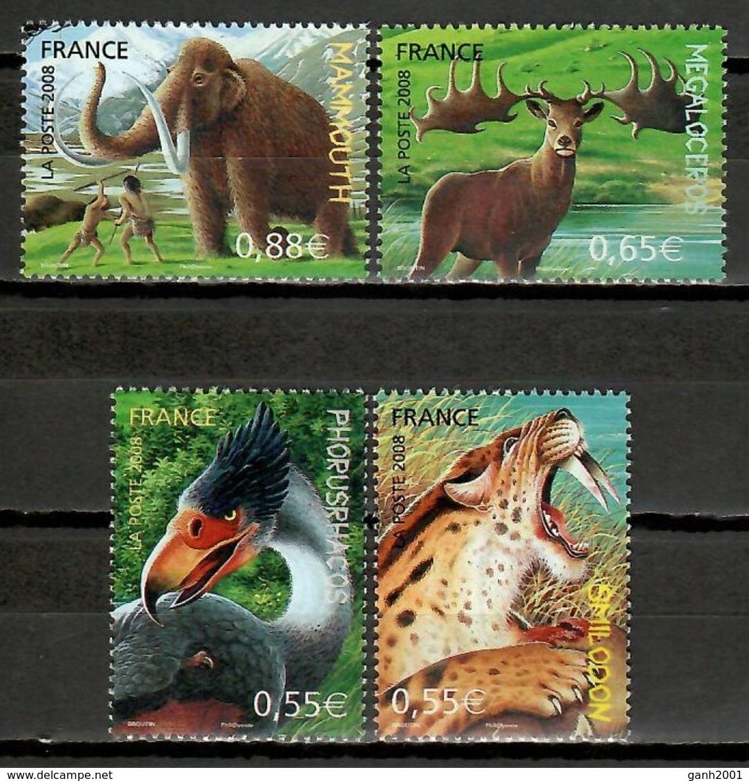 FRance 2008 Francia / Prehistoric Animals MNH Animales Prehistoricos Prähistorischen Tieren / Cu12011  36 - Prehistóricos