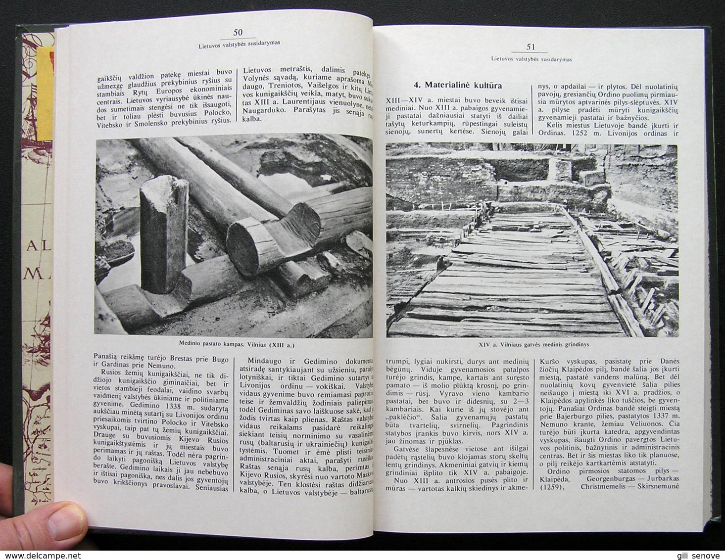 Lithuanian Book / Lietuvos TSR Istorija. Nuo Seniausių Laikų Iki 1917 Metų 1985 - Bücher, Zeitschriften, Comics