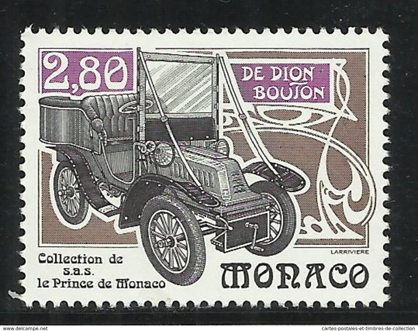 MONACO , 2.80 Frs , Collection De Voitures Anciennes De S.A.S. Rainier III , 1994 , N° YT 1942 , NEUF ** - Monaco