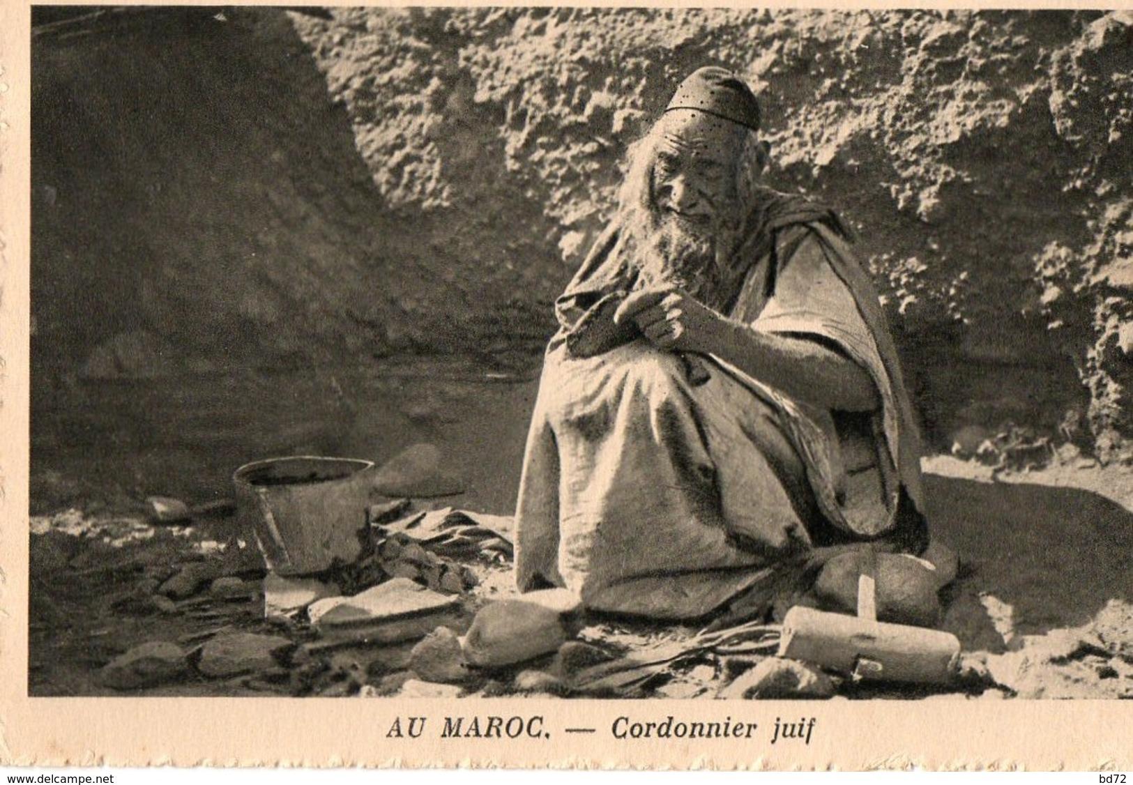 Au Maroc, Cordonnier Juif - Maroc
