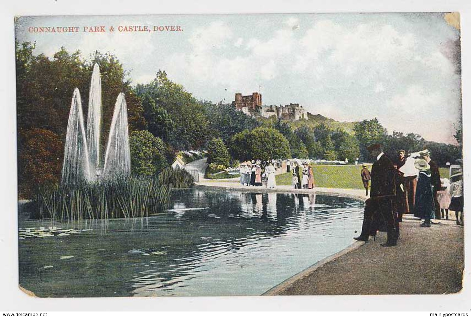 AI21 Connaught Park And Castle, Dover - Animated, Period Fashion - Dover