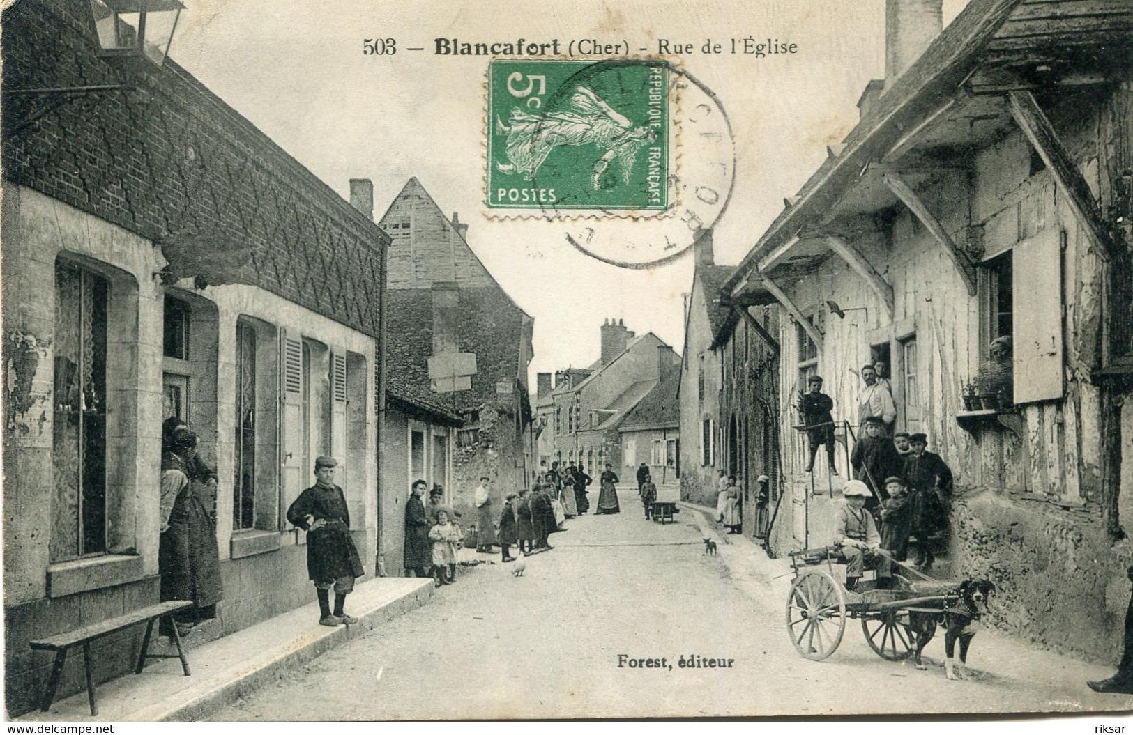 BLANCAFORT(ATTELAGE DE CHIEN) - Autres Communes