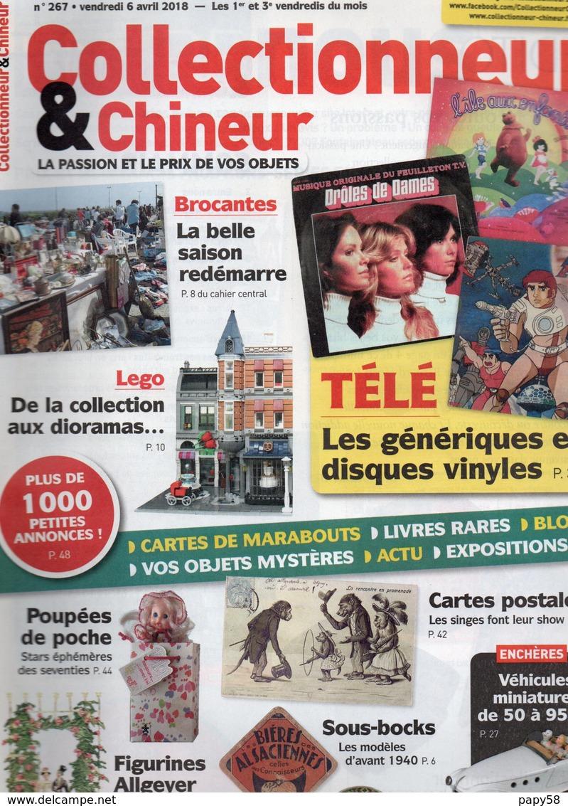 Livres, BD, Revues > Français > Non Classés Collectionneur Et Chineur N°267 Lego, Télé, Poupées De Poche - Livres, BD, Revues