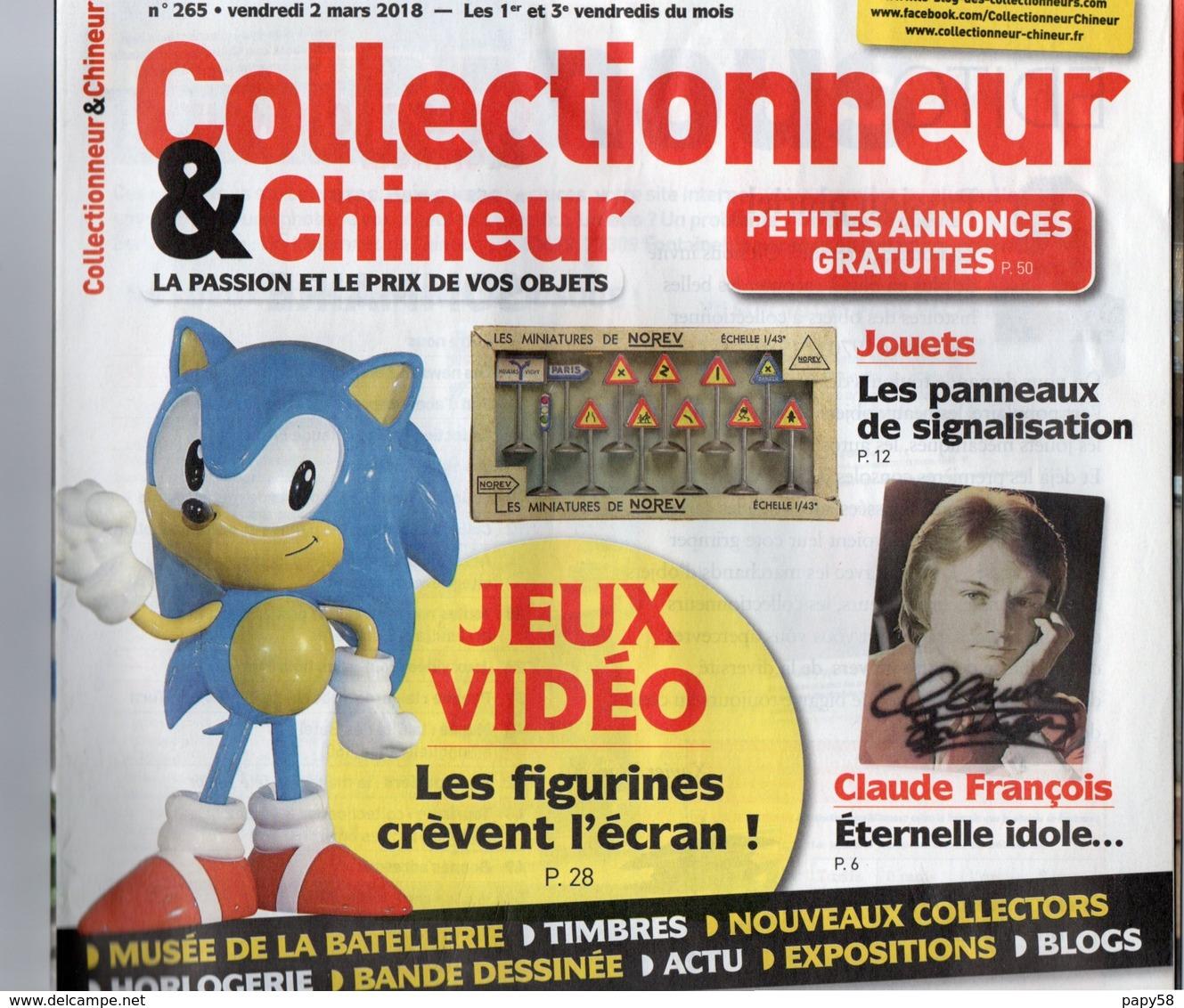 Livres, BD, Revues > Français > Non Classés Collectionneur Et Chineur N°265 Jeus Video , Claude François - Livres, BD, Revues
