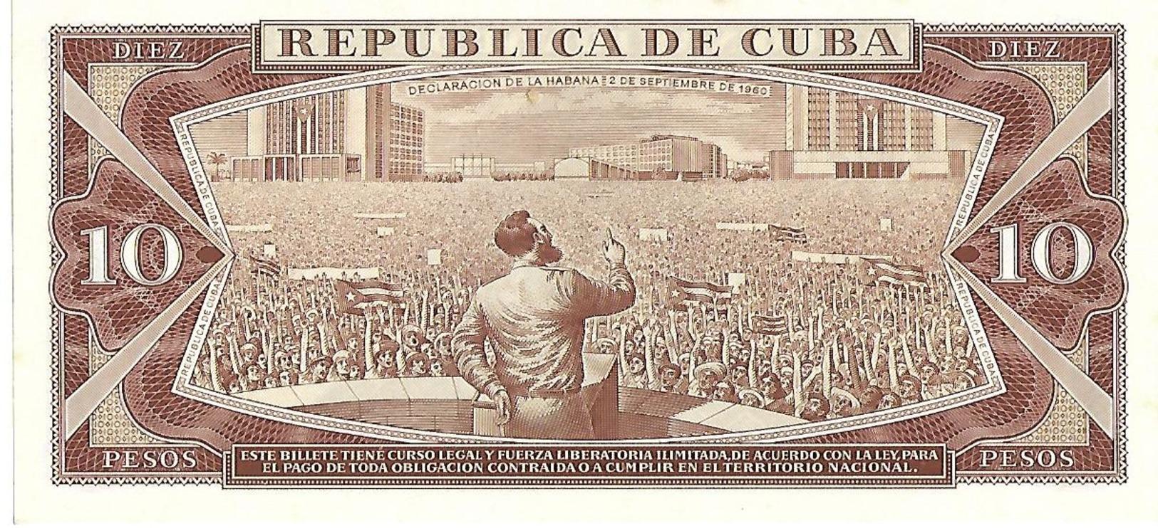 Kleines Lot Mit 3 Geldscheinen Kuba Von 1960, 1961 Und1968 - Cuba