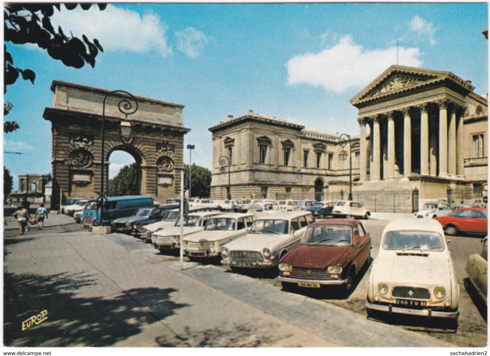 34. Gf. MONTPELLIER. Palais De Justice Et Arc De Triomphe. 580 - Montpellier