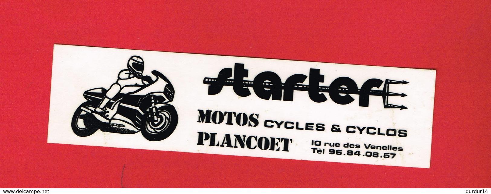 1 Autocollant MOTO CYCLES 10 Rue Des Venelles PLANCOET - Autocollants