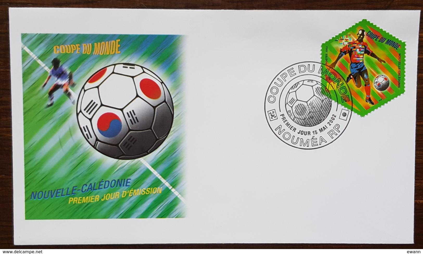 Nouvelle-Calédonie - FDC 2002 - YT N°868 - Coupe Du Monde De Football / Sport - FDC