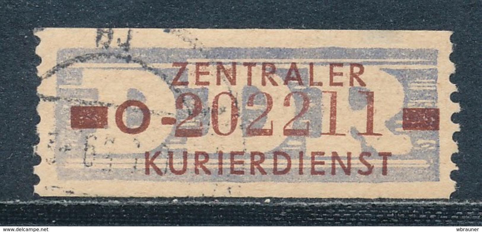 DDR Dienstmarken B 20 Kennbuchstabe O Gestempelt Mi. 40,- - Dienstpost