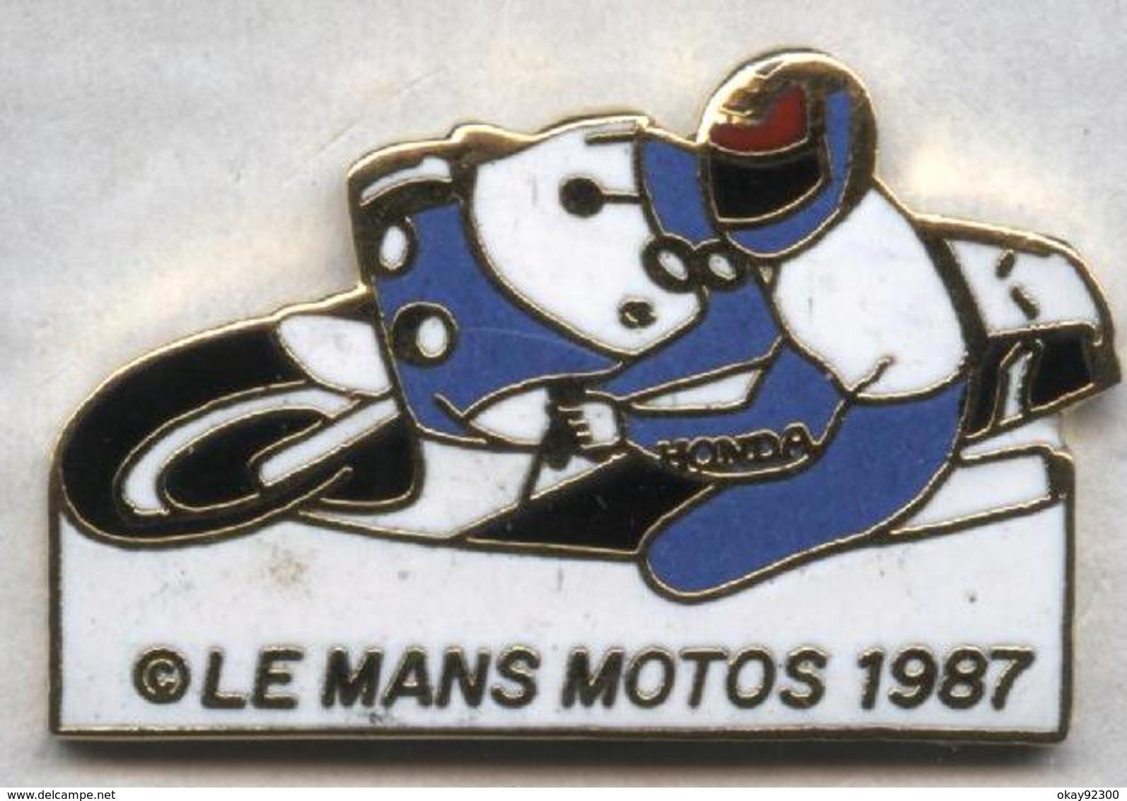 Pin's Moto Le Mans 1987 - Motos