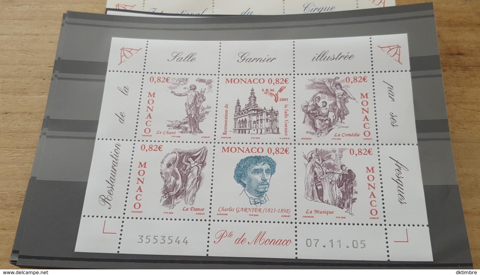 LOT 445870 TIMBRE DE MONACO NEUF** LUXE - Monaco