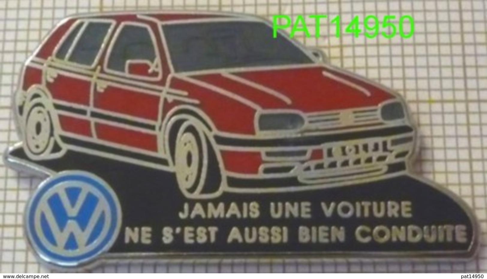 VW GOLF ROUGE JAMAIS UNE VOITURE NE S'EST AUSSI BIEN CONDUITE  VOLKSWAGEN En Version  ZAMAC  DECAT - Volkswagen
