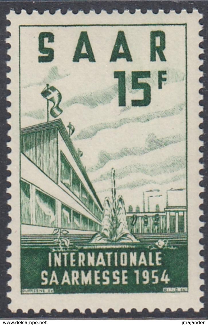Saar 1954 - International Saar Fair - Mi 348 ** MNH - 1947-56 Occupation Alliée