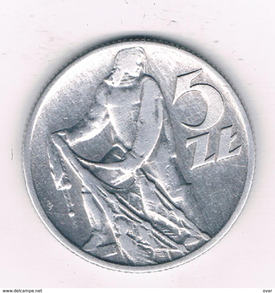 5 ZLOTY 1959 POLEN  /2437/ - Poland