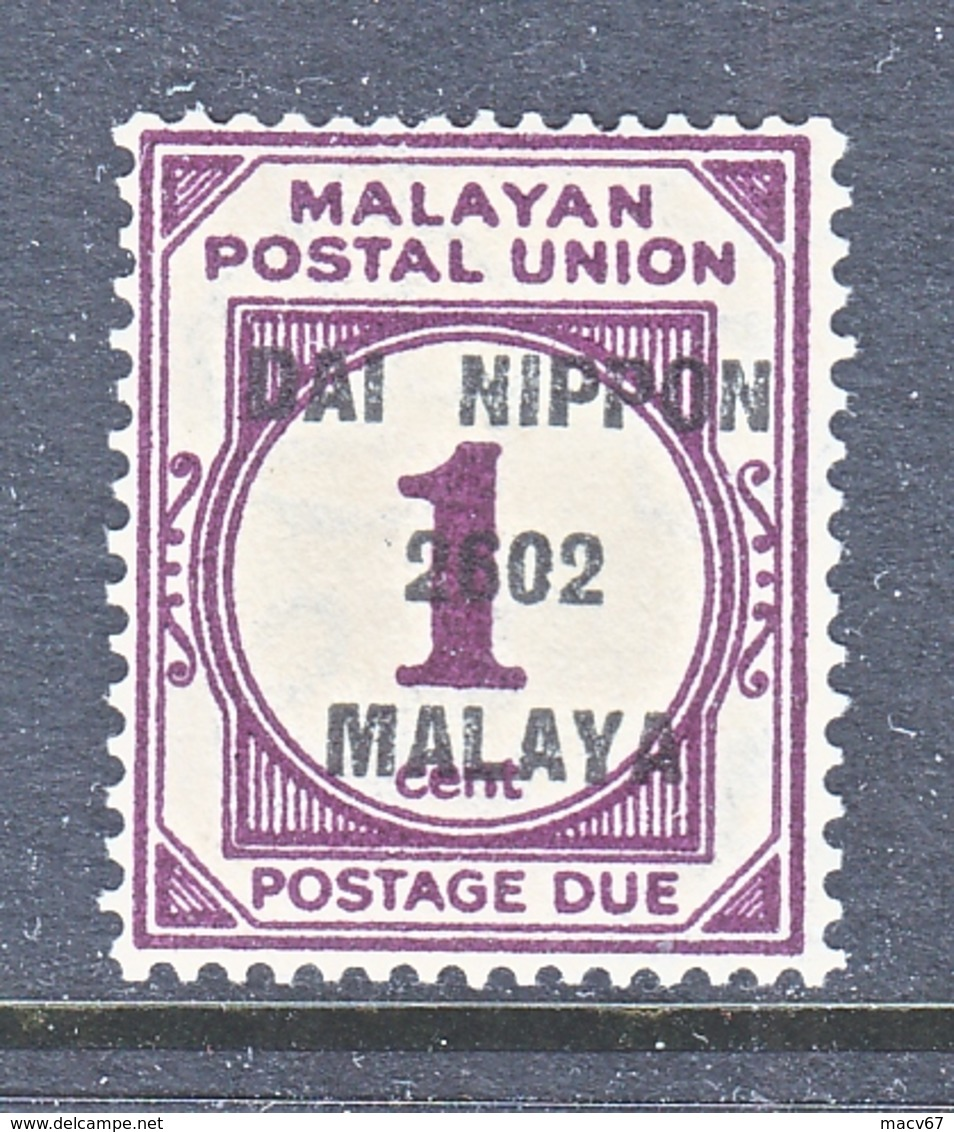 JAPANESE  OCCUP.  MALAYA  N J 8   * - Ocupacion Japonesa