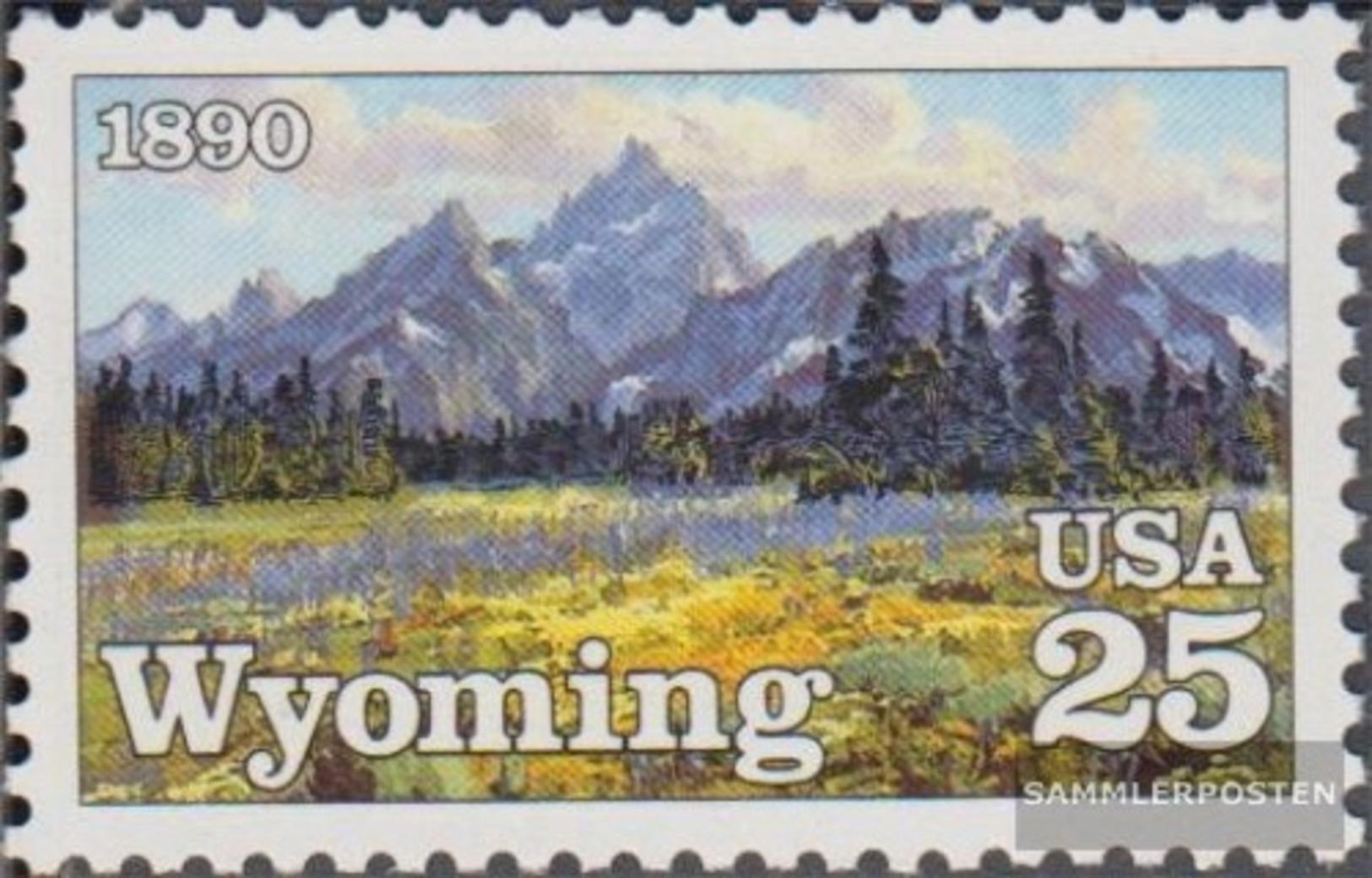 USA 2078 (completa Edizione) MNH 1990 100 Anni Wyoming - Nuovi