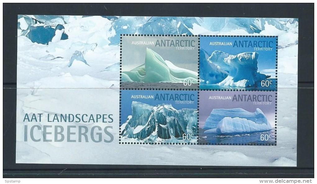 Australian Antarctic Territory 2011 Iceburg Miniature Sheet MNH - Territoire Antarctique Australien (AAT)