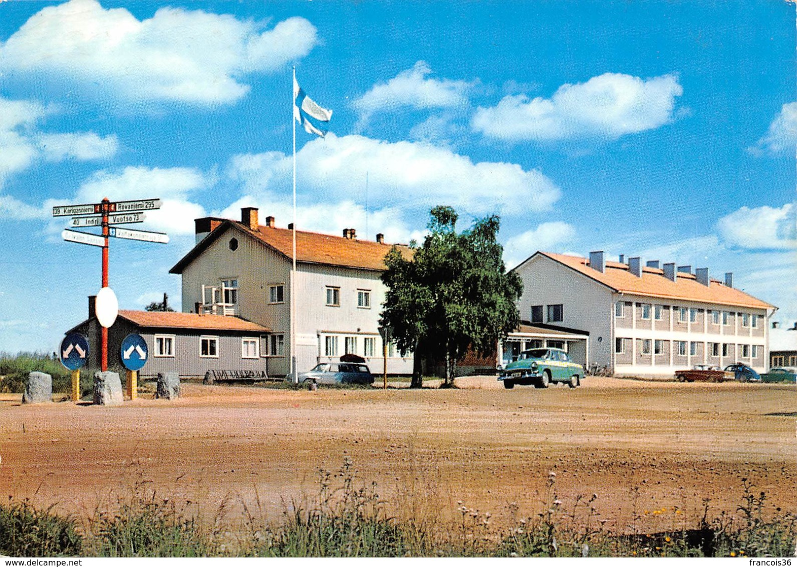Finlande - Lappi Lapland Suomi Finland - Ivalo - Tourist Station - Finlande