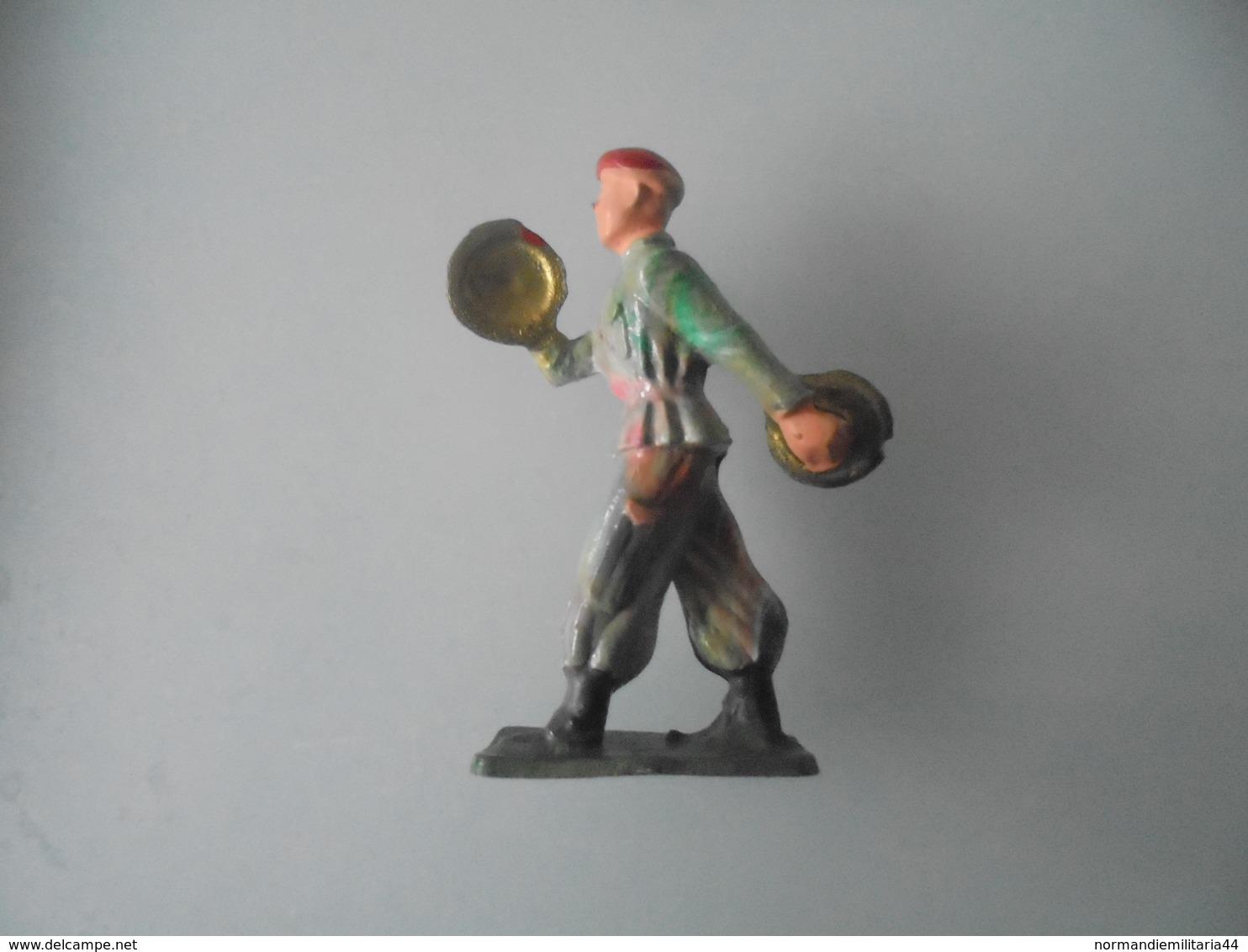 Figurine Starlux Para Fanfare Avec Cymbales - Starlux