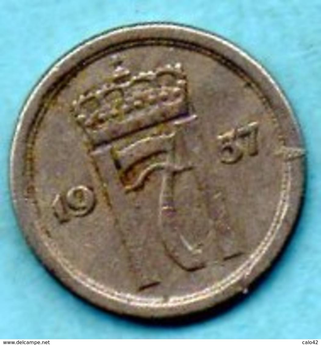 NORWAY / NORVEGE  10 ORE  1957 - Norvège