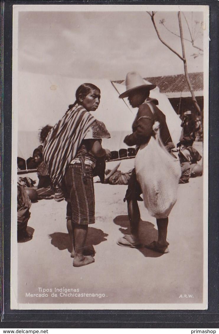 B35 /   Guatemala Tipos Indigenas Chichicastenango - Guatemala