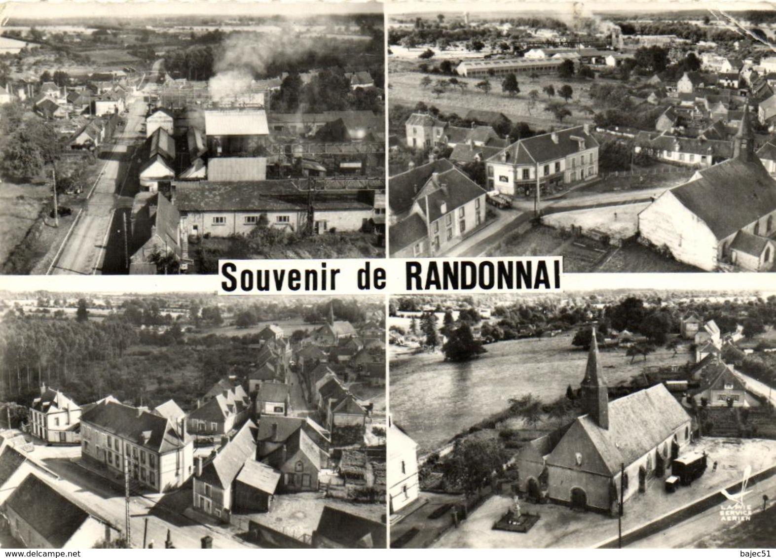 1 Cpsm Souvenir De Randonnai - France