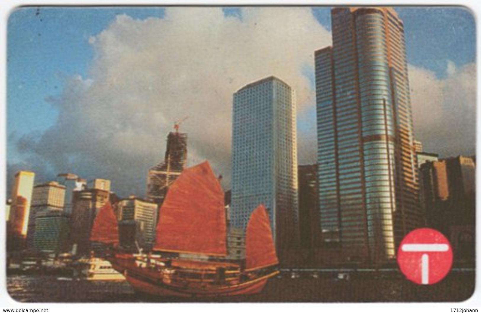 HONGKONG A-328 Magnetic Telecom - Architecture, Building - Used - Hong Kong