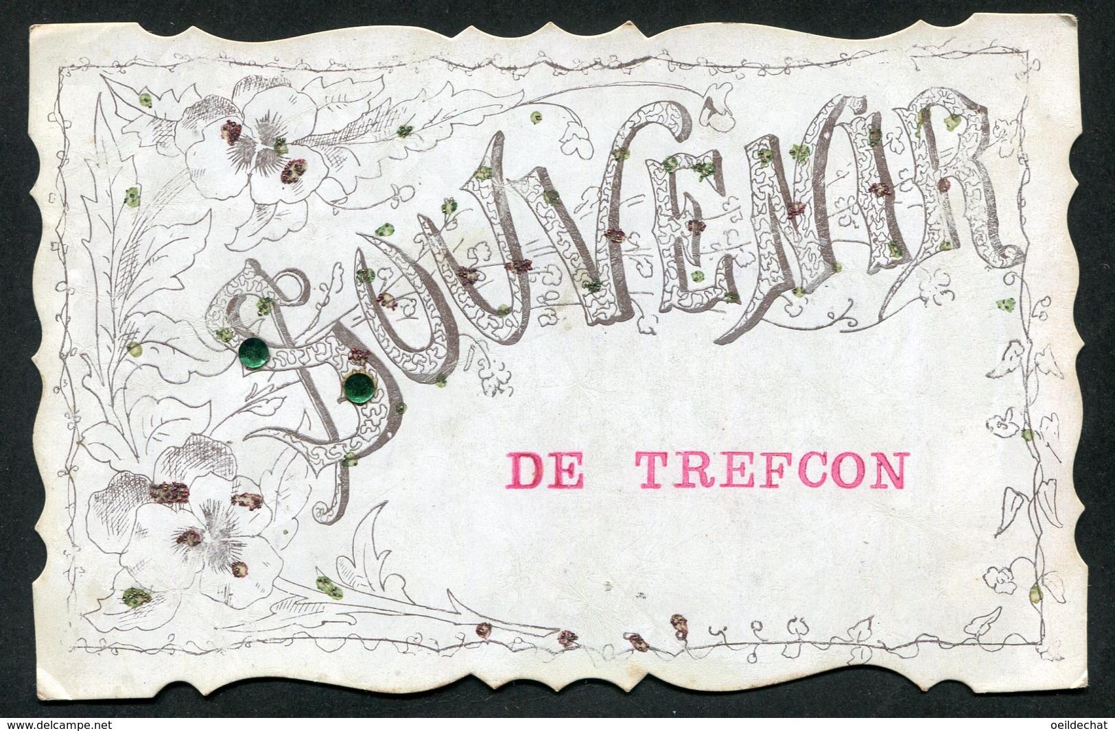 11945 CPA  Souvenir De Trefcon - Souvenir De...