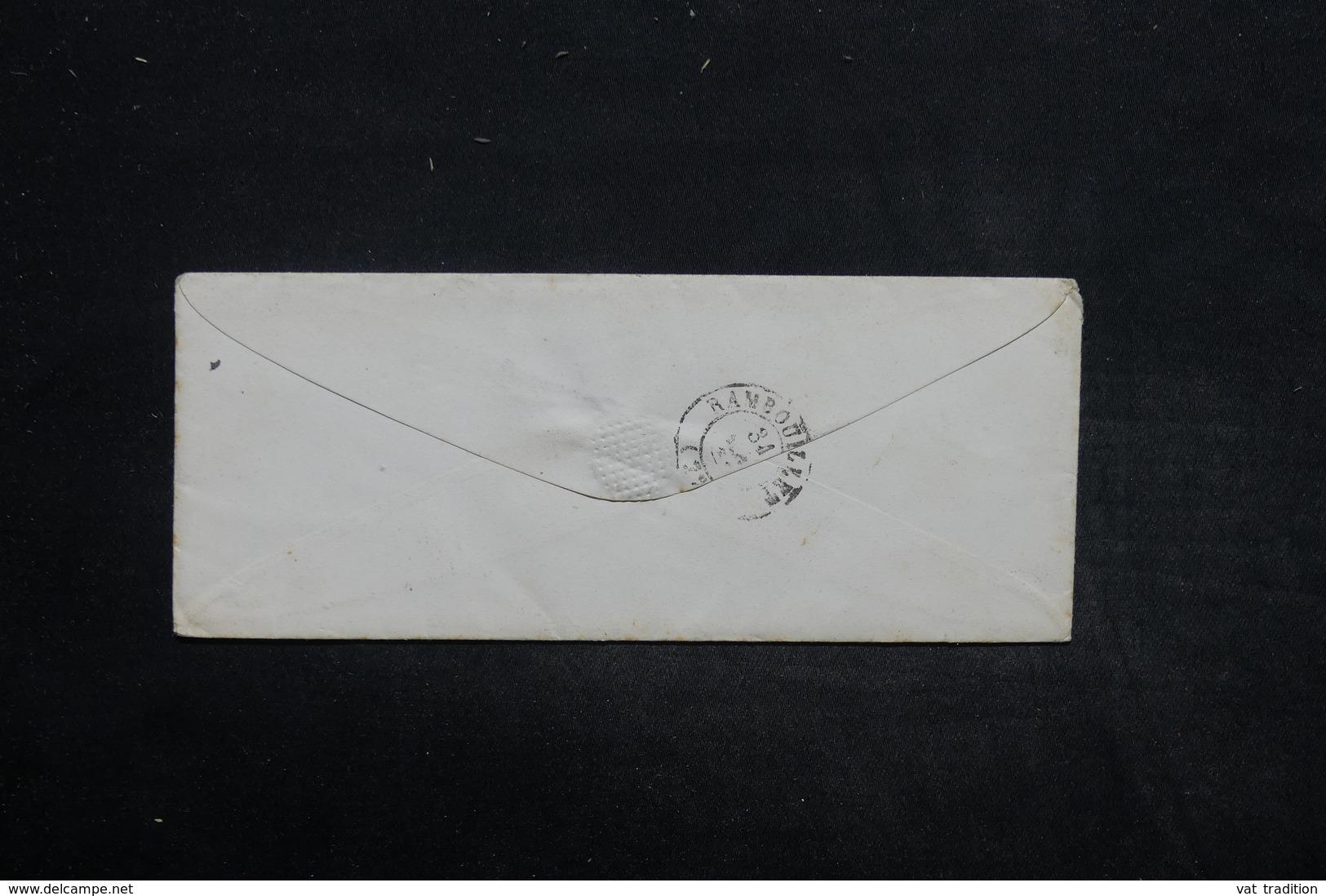 FRANCE - Enveloppe De Paris Pour Rambouillet En 1952 - L 25619 - Marcophilie (Lettres)