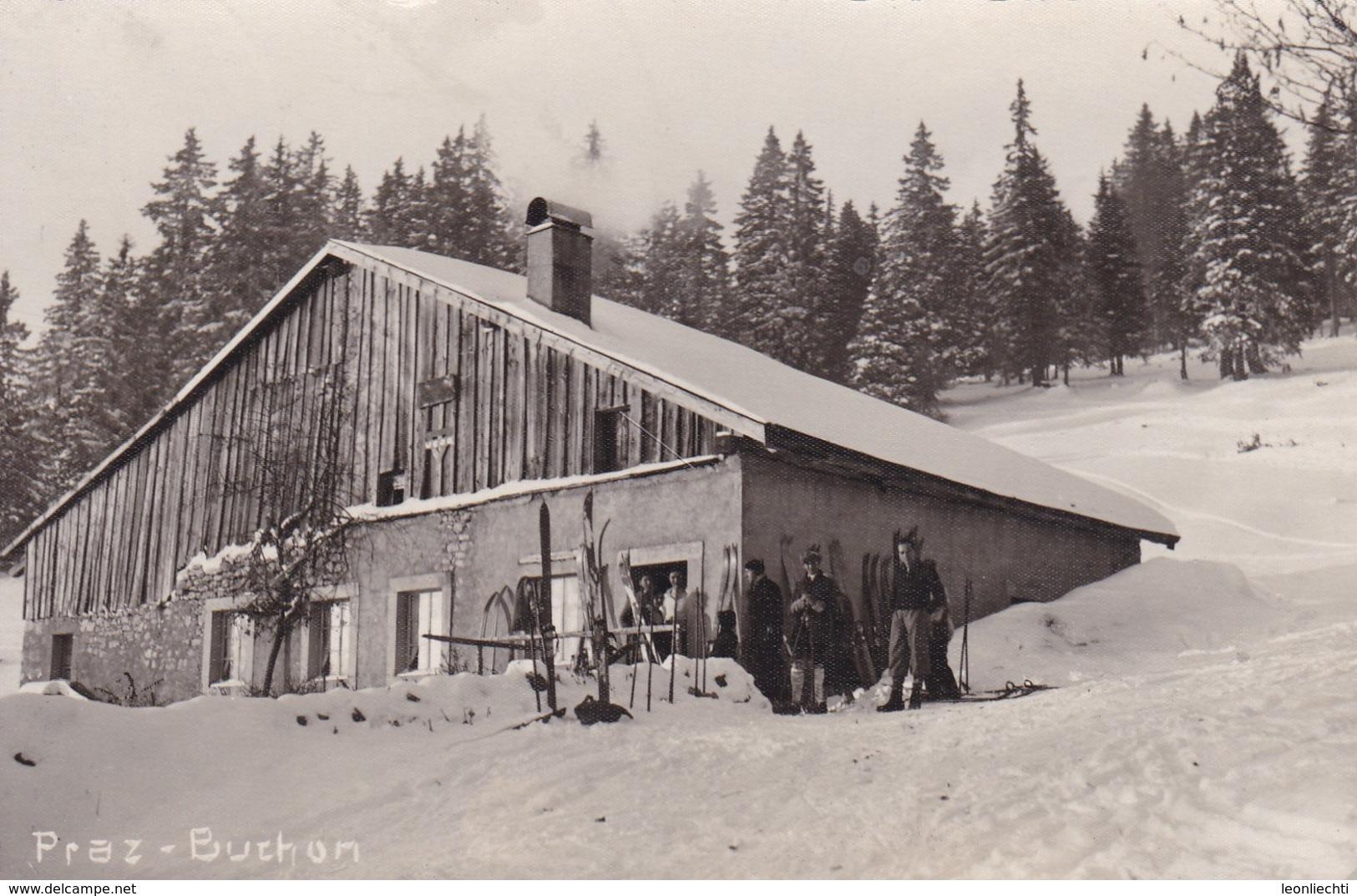 Praz - Buchon, Skihütte, Mi: 204x - VD Vaud