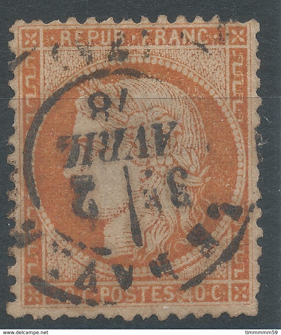 Lot N°47002  N°38, Oblit Cachet à Date De Le Havre (74) - 1870 Siege Of Paris