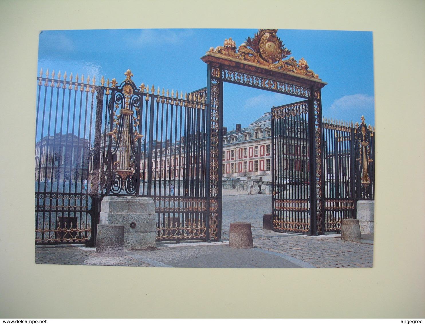 Carte Congrès Du Parlement 1983 Versailles - Monuments
