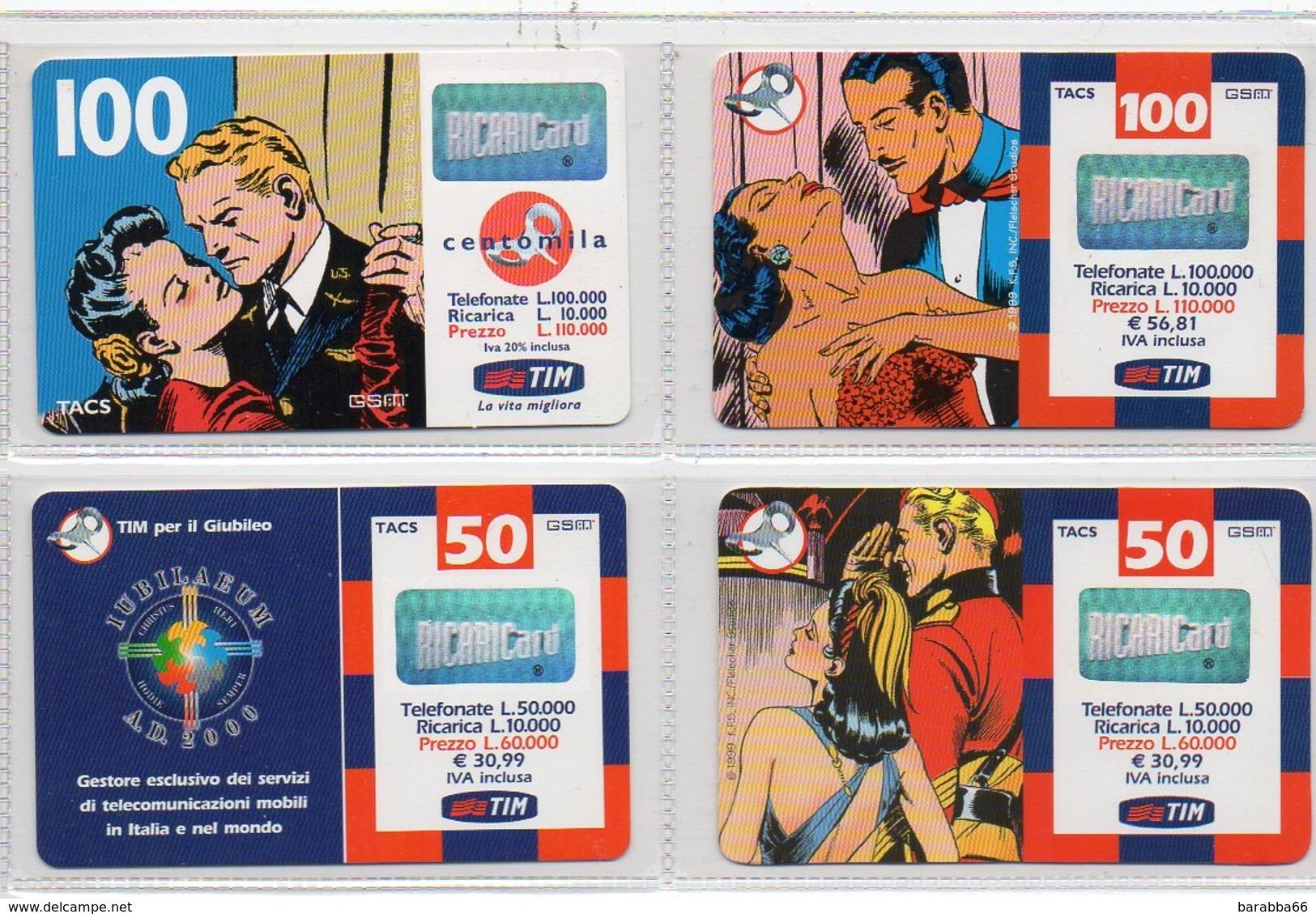 """TIM 11+1 CARD SET - """"MANDRAKE"""" - Italie"""