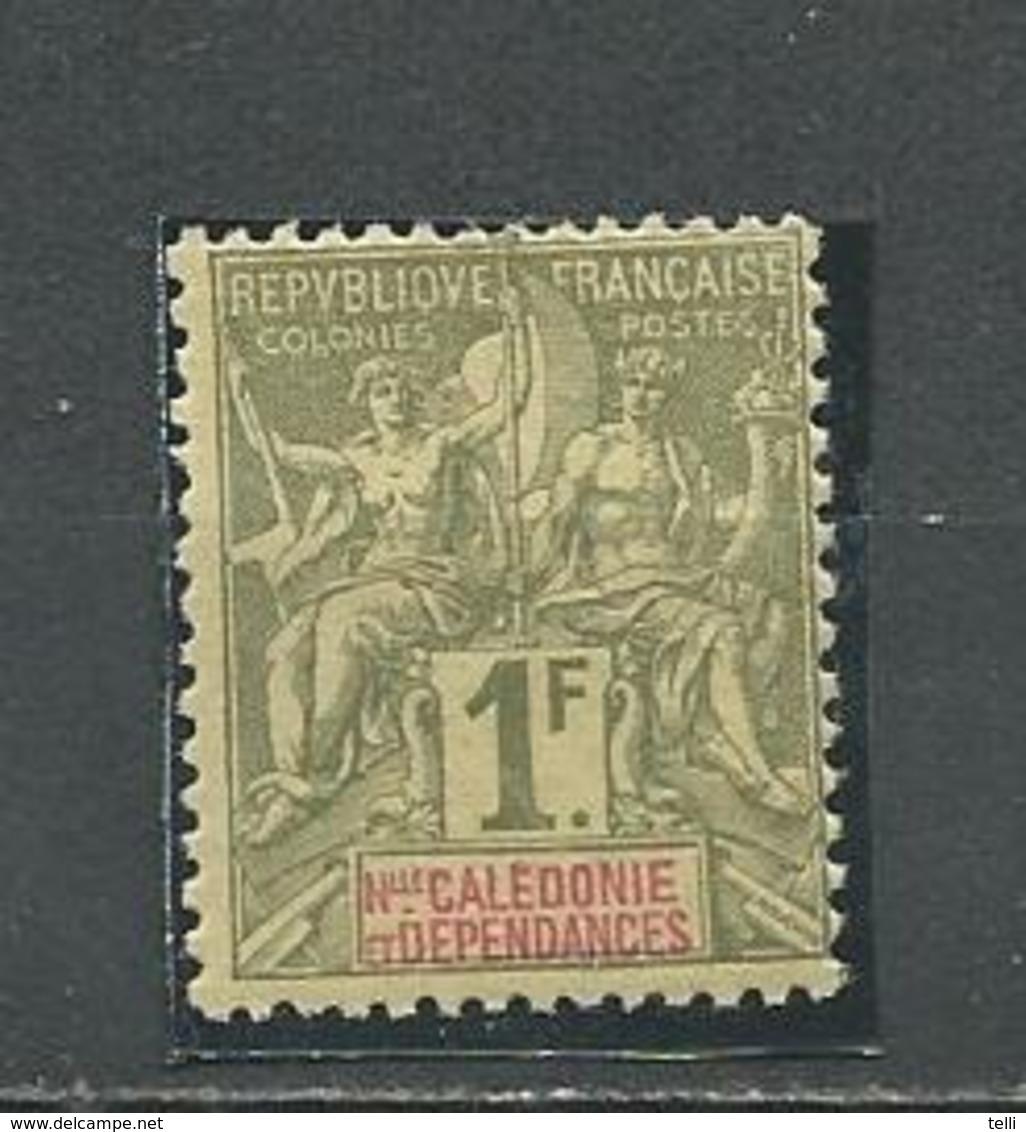 NOUVELLE CALÉDONIE Scott 58 Yvert 53 (1) *  45,00 $ 1892 - Neufs