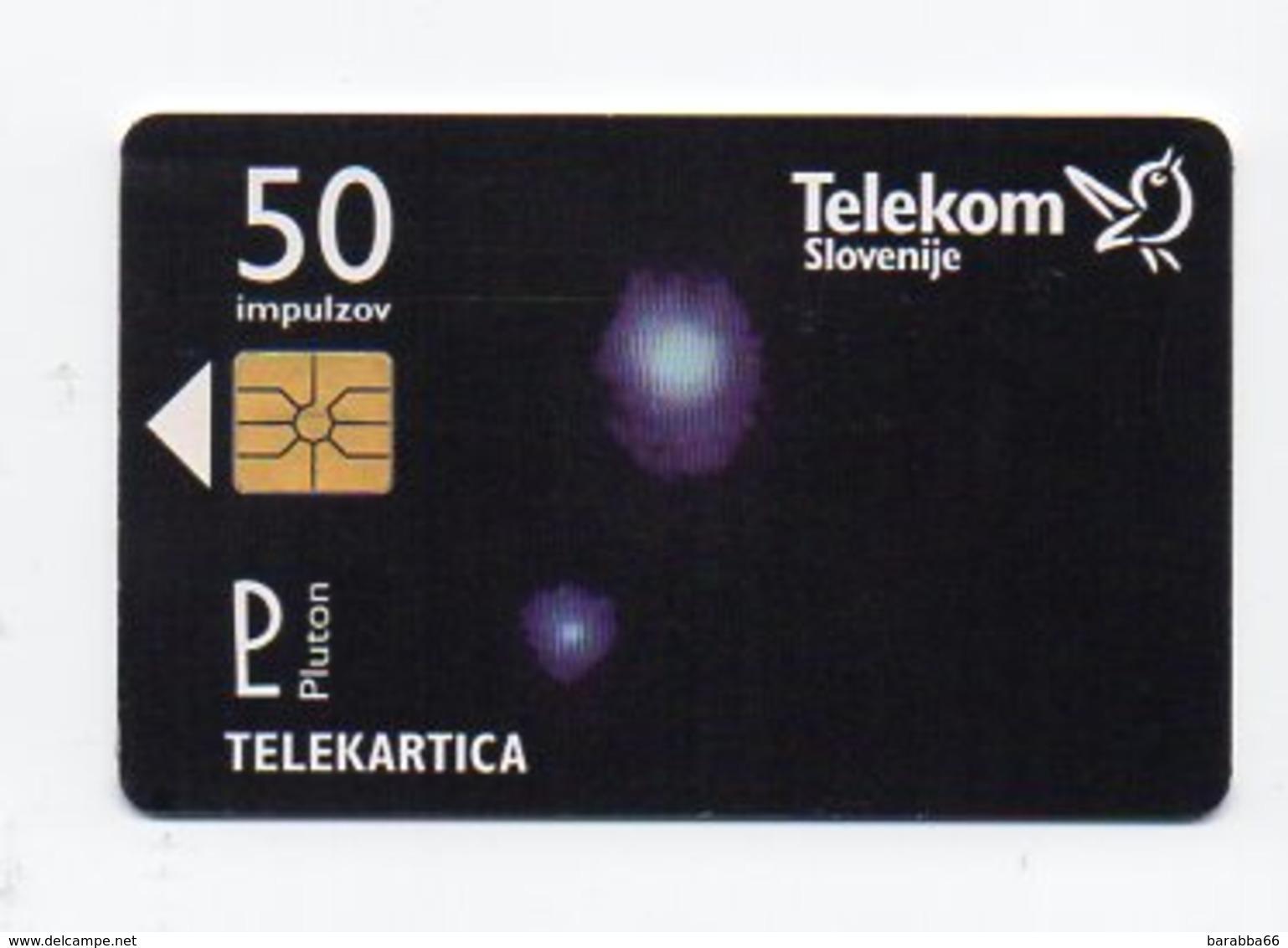 Telekom Slovenije 50 Imp. - Pluton - Slovénie