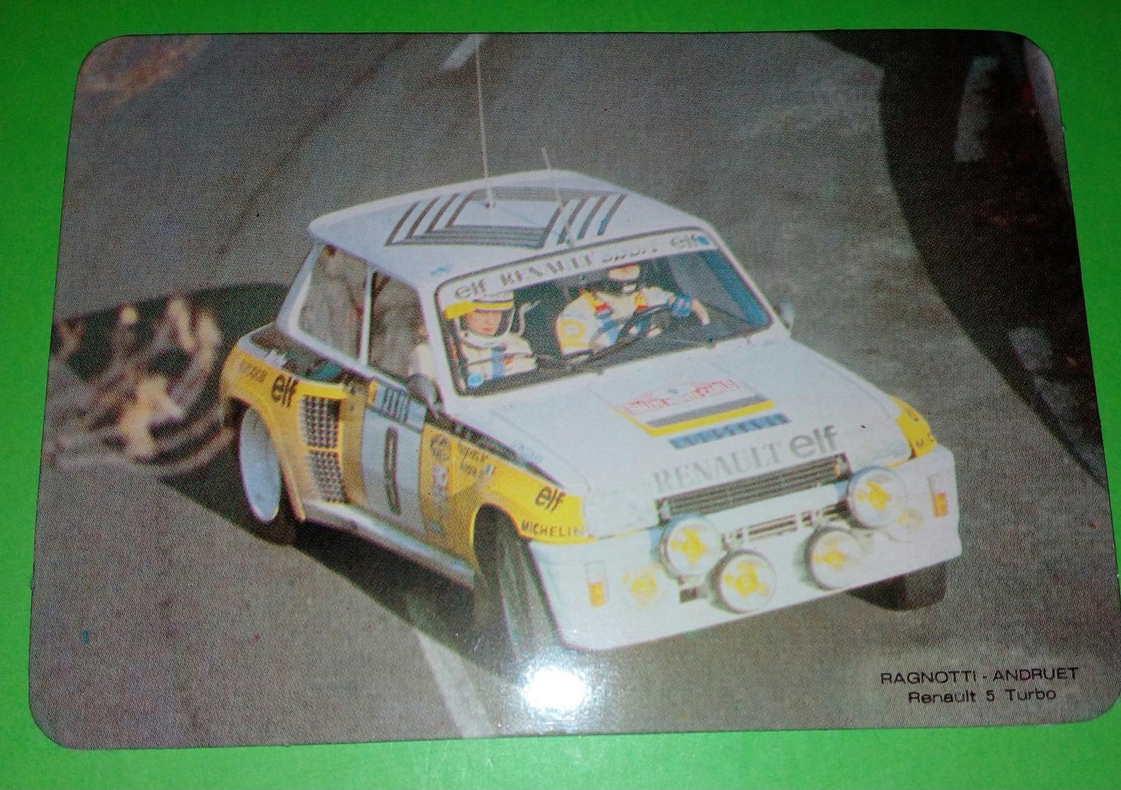 Calendrier De Poche RENAULT 5 Turbo. 1985 - Calendarios