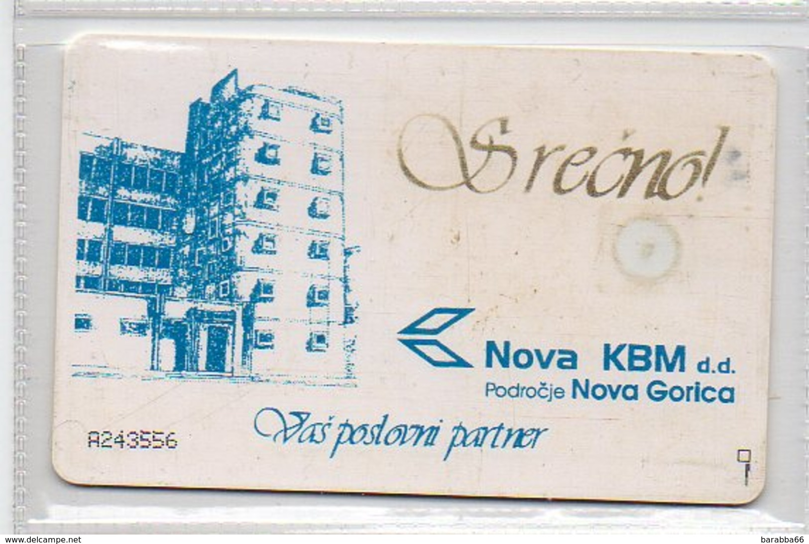 Impulz 100 Imp. - NKBM - Slovénie